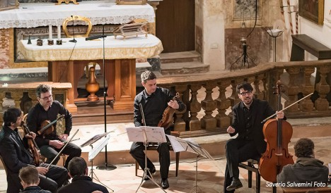 Quartetto Prometeo: quattro grandi musicisti per un programma straordinario