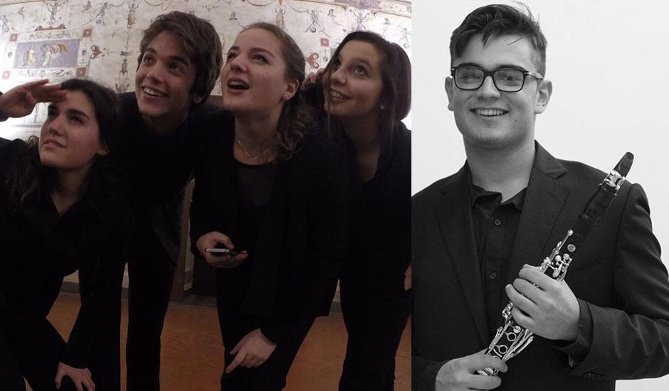 Quartetto Contr'Arco con Raul Jain clarinetto