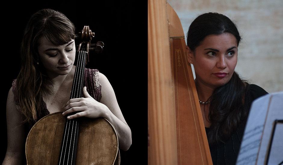 Chiara Burattini e Augusta Giraldi, violoncello e arpa