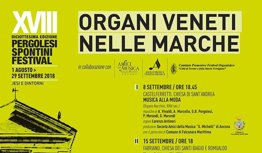 Organi veneti nelle Marche