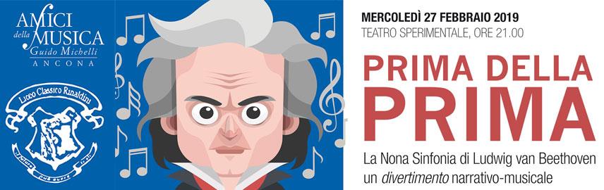 Prima della prima. La Nona Sinfonia di Beethoven: divertimento narrativo – musicale