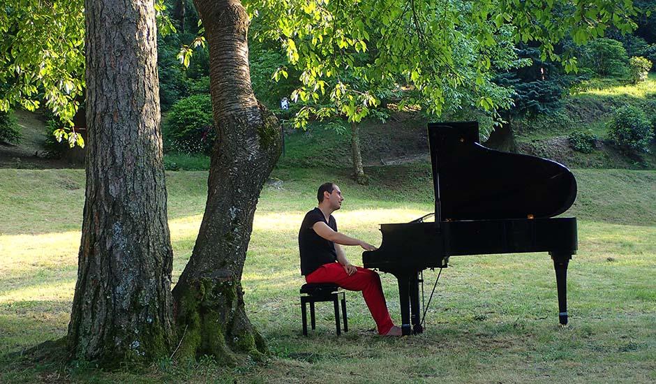 Andrea Corazziari, pianoforte