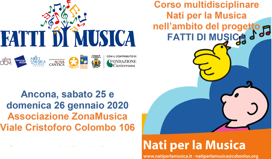 Corso multidisciplinare Nati per la Musica